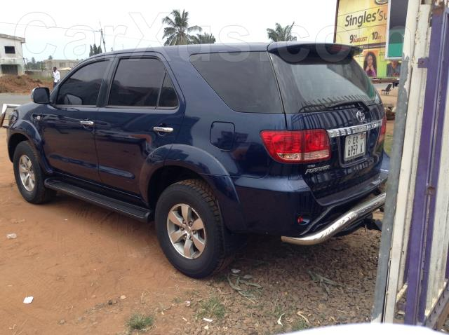 2010 Toyota Fortuner Buy Used Auto Car Online In Nungua Ghana Carxus